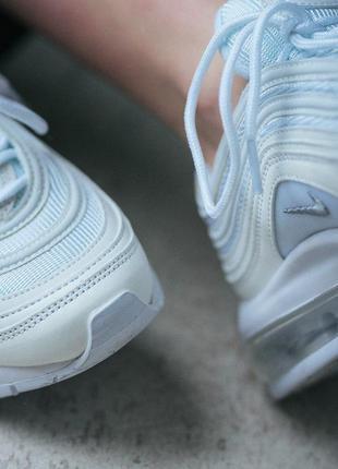 Шикарные женские кроссовки nike air max 97 white 😍 (весна/ лет...