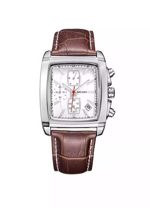 Megir, Часы наружные мужские,  megir, элитные часы, наручные часы