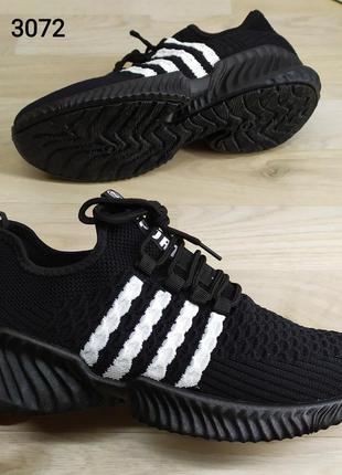 Стильные мужские кроссовки текстиль, на объемной подошве