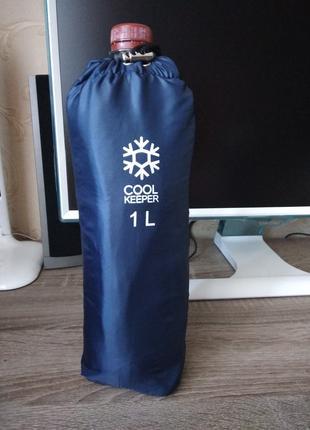 Термосумка термочехол для бутылки термоса чехол сумка 1 л