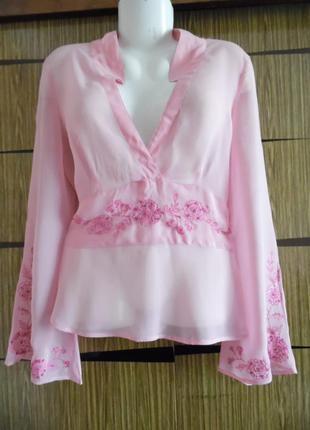 Блуза новая butterfly, размер 14 – идет на 48-50.