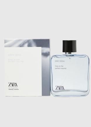 Мужская туалетная вода zara grey soul духи парфюмерия зара