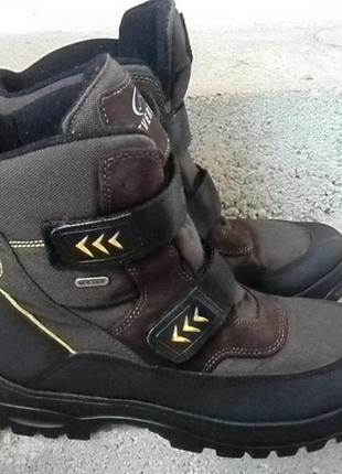 Термоботинки / ботинки чоботи зимові everest watertex 44р.