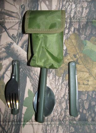 Нож+вилка+ложка набор столовых приборов