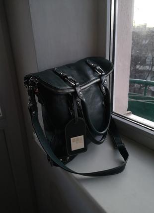 Кожаная сумка 0714