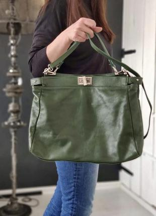 Lavorazione artigianale. сумка из натуральной кожи.