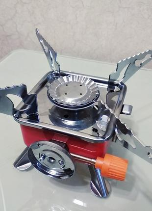 Примус портативная газовая горелка с цанговым креплением