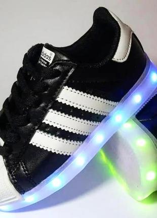 Кроссовки детские,led,детская обувь