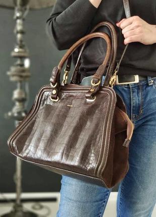 Guidi. сумка из натуральной кожи.