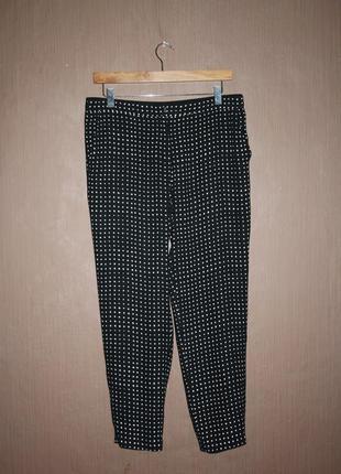 Актуальные зауженные укороченные брюки №33
