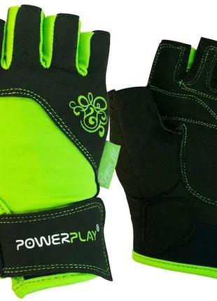 Рукавички для фітнесу PowerPlay жіночі