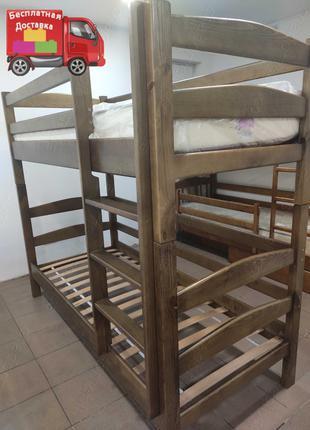 Двухъярусная кровать \ двухярусная \ 2ярусная \ 2 х ярусная де...
