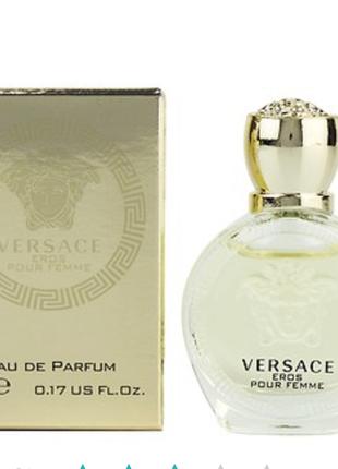 Versace eros pour femme парфюмированная вода (мини)