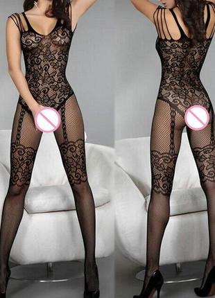 сексуальное ажурное белье боди