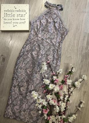 Очень красивое облегающее кружевное платье, вечернее платье, к...