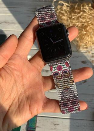 Металлический ремешок для apple watch