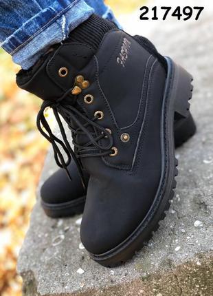 Крутые женские ботинки. зимние ботинки