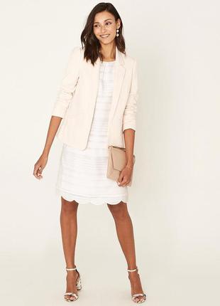 Нарядное белоснежное платье прямого кроя oasis ❗️скидки уже в ...