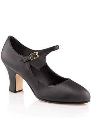 Туфли 42 р для танцев кожаные
