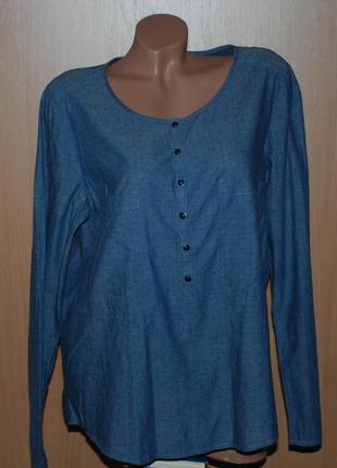 Блуза бренда esprit /100%хлопок /