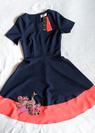 Платье с пышной юбкой солнцеклеш