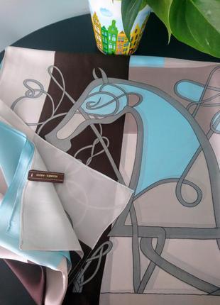 Шёлковый шарф шаль высокого качества