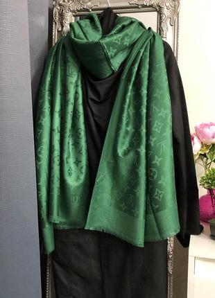 Кашемировый палантин шарф шаль 💚