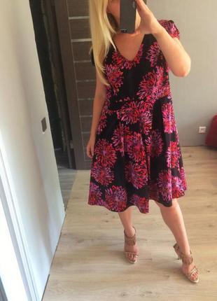Распродажа! красивое цветочное платье р20-22 от simplybe