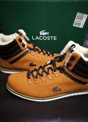 Lacoste Jarmund - Зимние, теплые мужские ботинки (44 размер/26см)