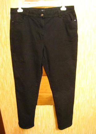 Черные женские джинсы р.56-58