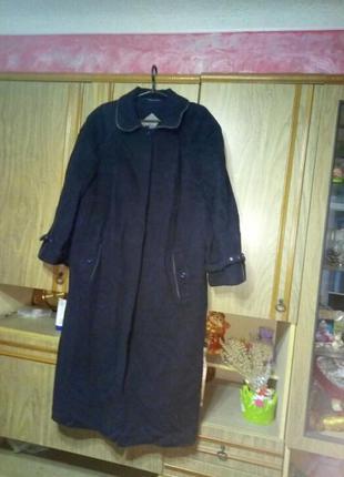 Пальто деми большого размера