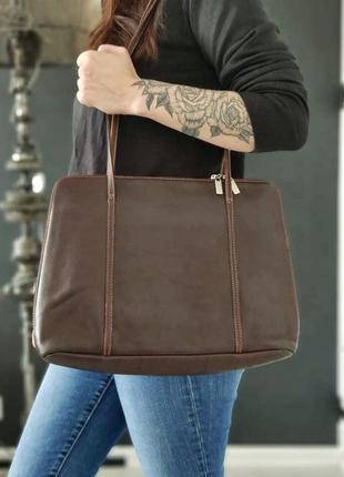 Boxca. сумка из натуральной кожи.