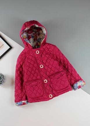Демисезонная, стёганная куртка george на 2-3 года/92-98 см