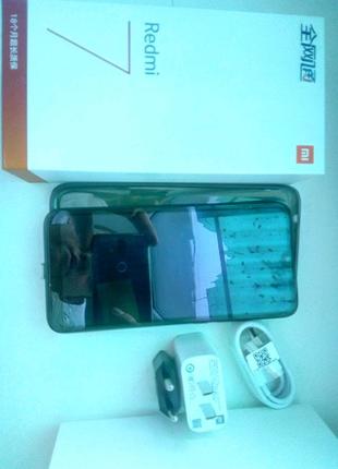 Xiaomi redmi 7 4/64Gb. Без повреждений по цене 3/32Gb