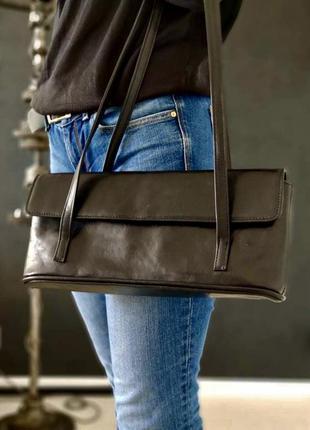 Schneider&friends. сумка из натуральной кожи.