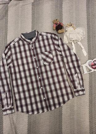 Рубашка в клетку мужская