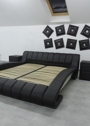 Двуспальная кровать с подъемным механизмом Tirana