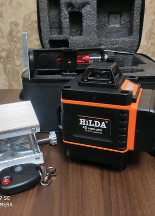 Лазерный уровень Hilda 4D 16линий