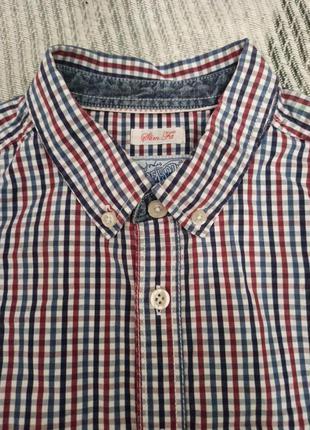 Рубашка в клетку мужская брендовая