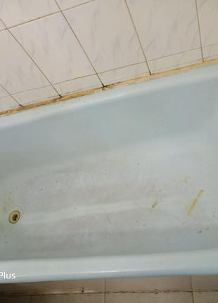 Реставрация ванн. Восстановление эмалевого покрытия.