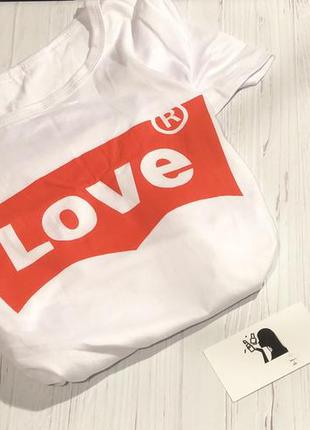 "Футболка «love"""