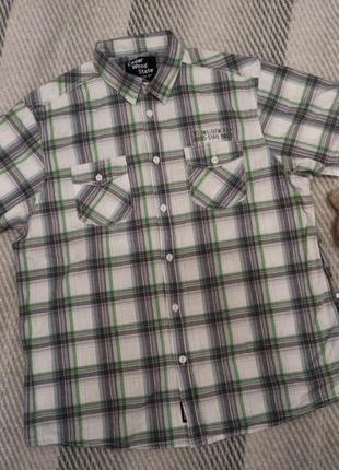 Шведка рубашка мужская в клетку