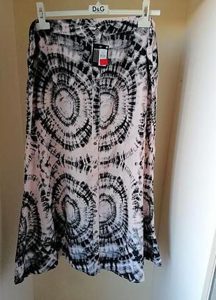 Новая с биркой летняя юбка в пол макси батал большой размер пр...