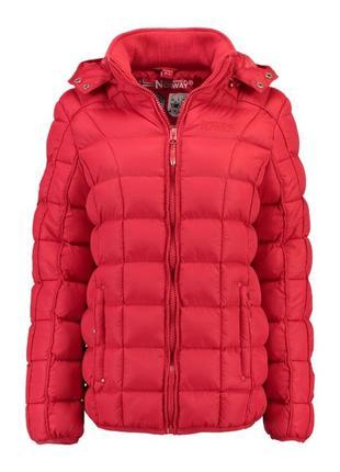 Куртка стёганая мембранная зима демисезон barbouille geographi...