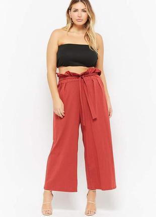 Широкие штаны,брюки, кюлоты большого размера nutmeg