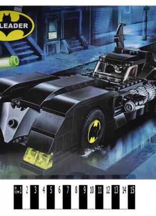 """Конструктор """"BATMAN"""" """"Погоня за Джокером"""" 354дет 38,8*22*6,5см"""