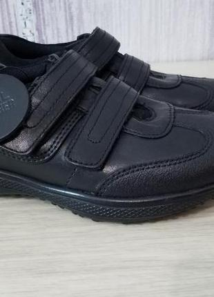 Кожаные туфли для мальчика school collection. р11/29