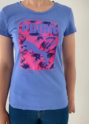 Футболка puma, яскрава футболка, легка літня футболка.