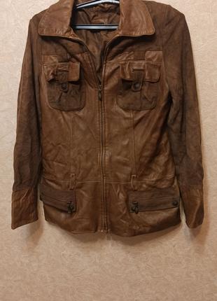 Куртка из натуральной кожи AS PELLE