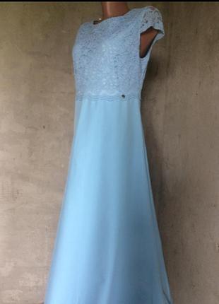 Нарядное платье, длинное в пол
